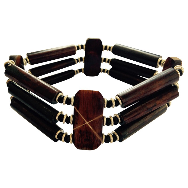 brown tube  bracelet