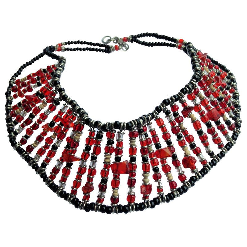 West african chocker red