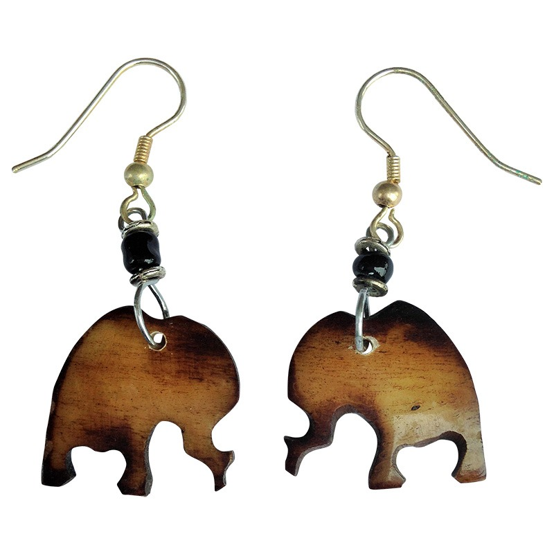 Elephant shape earrings