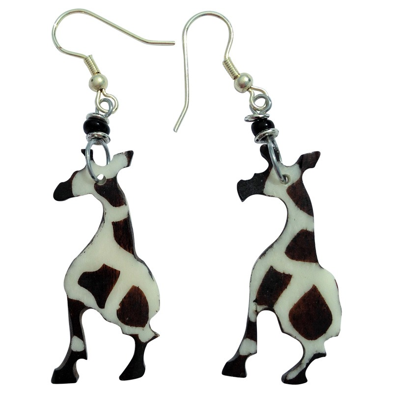 Giraffe shape earrings