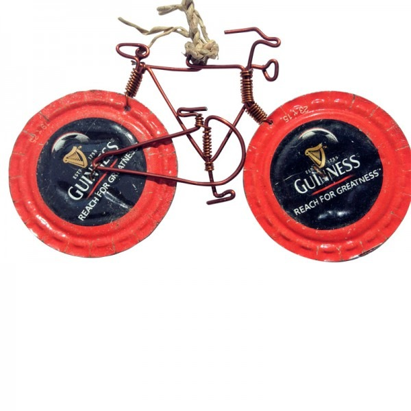 RECYCLED BOTTLETOP BIKES