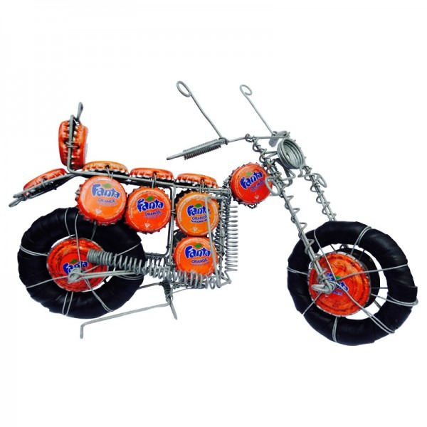 RECYCLED BOTTLETOP MOTORBIKES