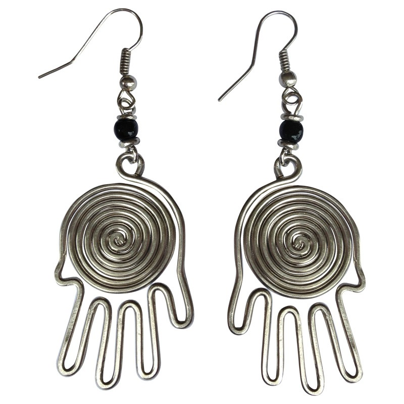 Fair Trade Earrings - Recycled and beaded Archives - Zuri Design
