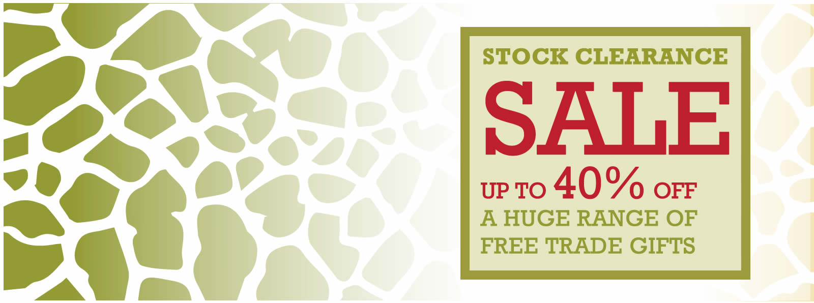 stock clearance fair trade gifts